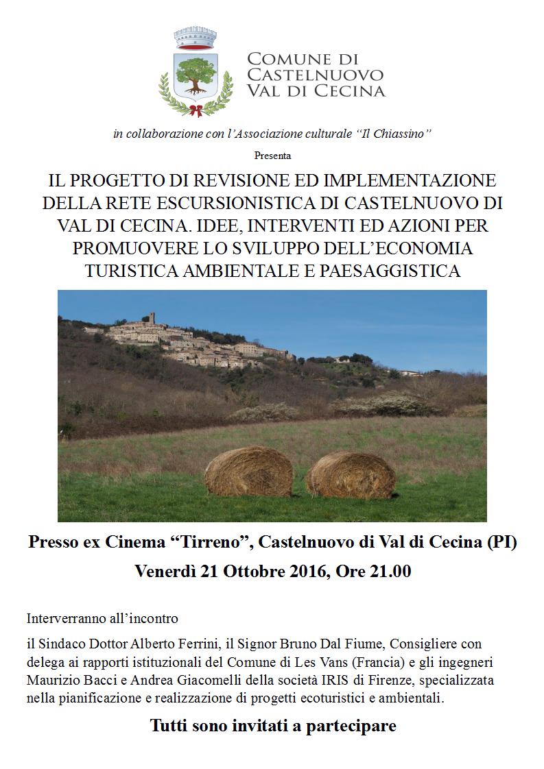 riqualificazionesentieristicacastelnuovo_locandinaserata21-10-16